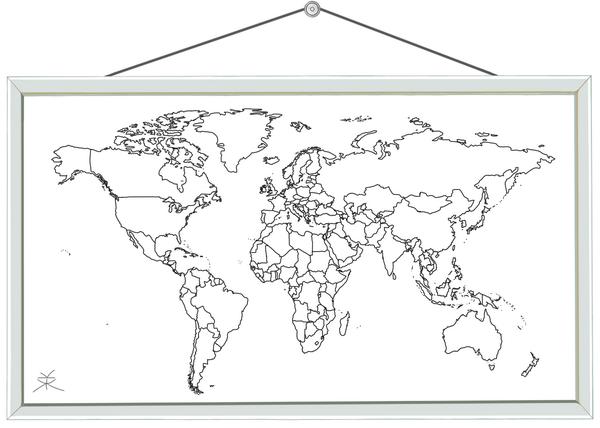 verdenskort © Kirsten K. Kester.com | Kirsten K. Kester