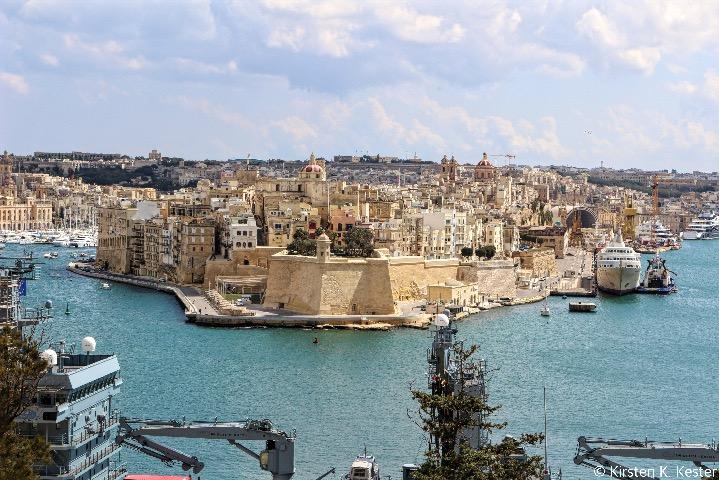 Valletta udsigt © Kirsten K. Kester.com | Kirsten K. Kester