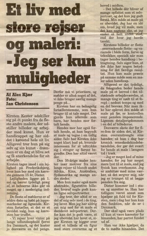 Article from Aarhus Onsdag © KirstenKKester.com | Kirsten K. Kester