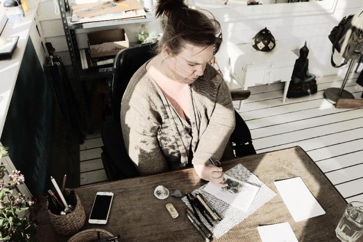 From the studio © KirstenKKester.com | Kirsten K. Kester