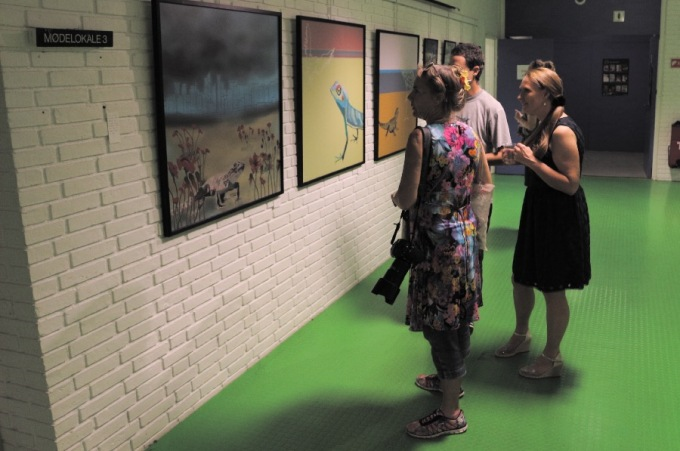 From the exhibition at Herlev Kunstforening © KirstenKKester.com | Kirsten K. Kester