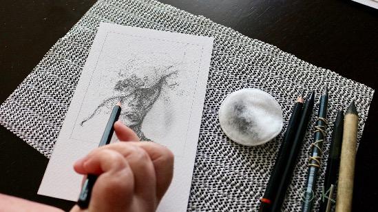 I atelieret © KirstenKKester.com | Kirsten K. Kester