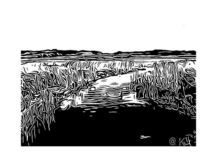 Landskab 04 - Kunst att: K @ Kirsten K Kester | kirstenkkester.com