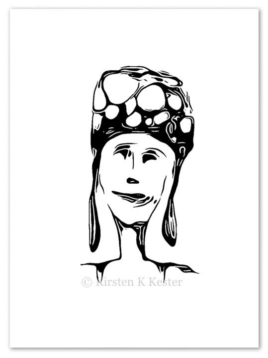 Ulige ansigter | Atelier K3 © Kirsten K Kester | kirstenkkester.com