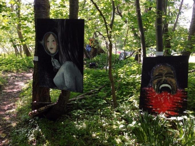 Kunst i skoven, 2013 © KirstenKKester.com | Kirsten K. Kester