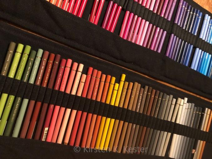 Studio K, mange farveblyanter © KirstenKKester.com | Kirsten K. Kester